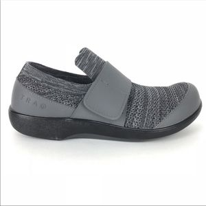 Traq by Alegria Quick Slip On Charcoal Sneakers